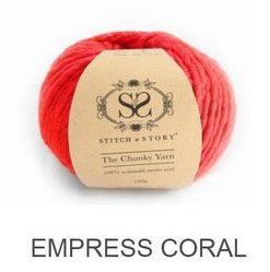 Stitch&Story Chunky_Wool_Empress Coral