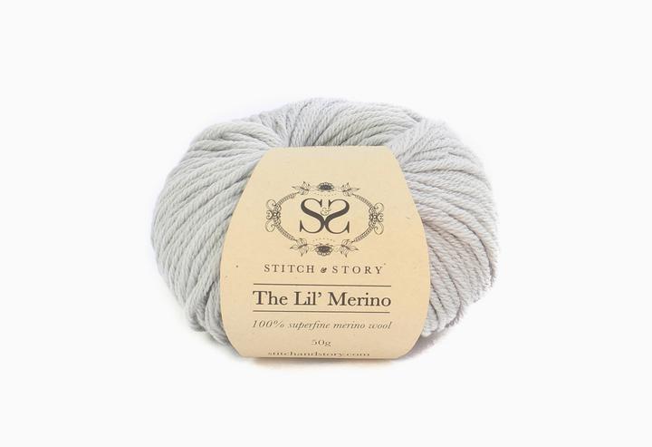 Stitsc&Story Lil Merino Wool Dovre Grey