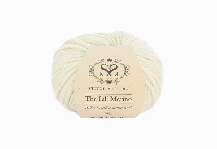 Stitsc&Story Lil Merino Wool Natural White