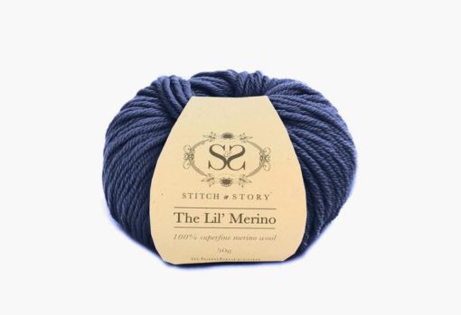Stitsc&Story Lil merino wool graphite blue