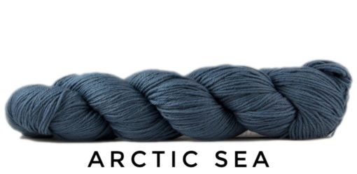 Rosy Green Wool Cheeky Merino Joy Artic Sea