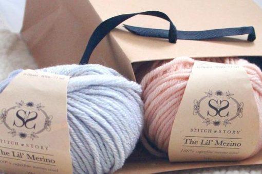 The Lil Merino Baby Knitting Wool_600x400