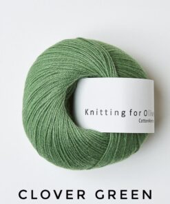 Knitting for olive Cotton Merino Clover Green