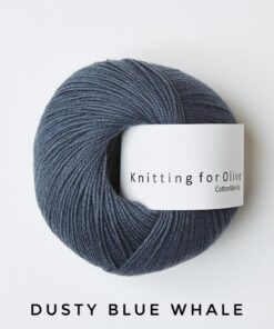 Knitting for olive Cotton Merino Dust Blue Whale