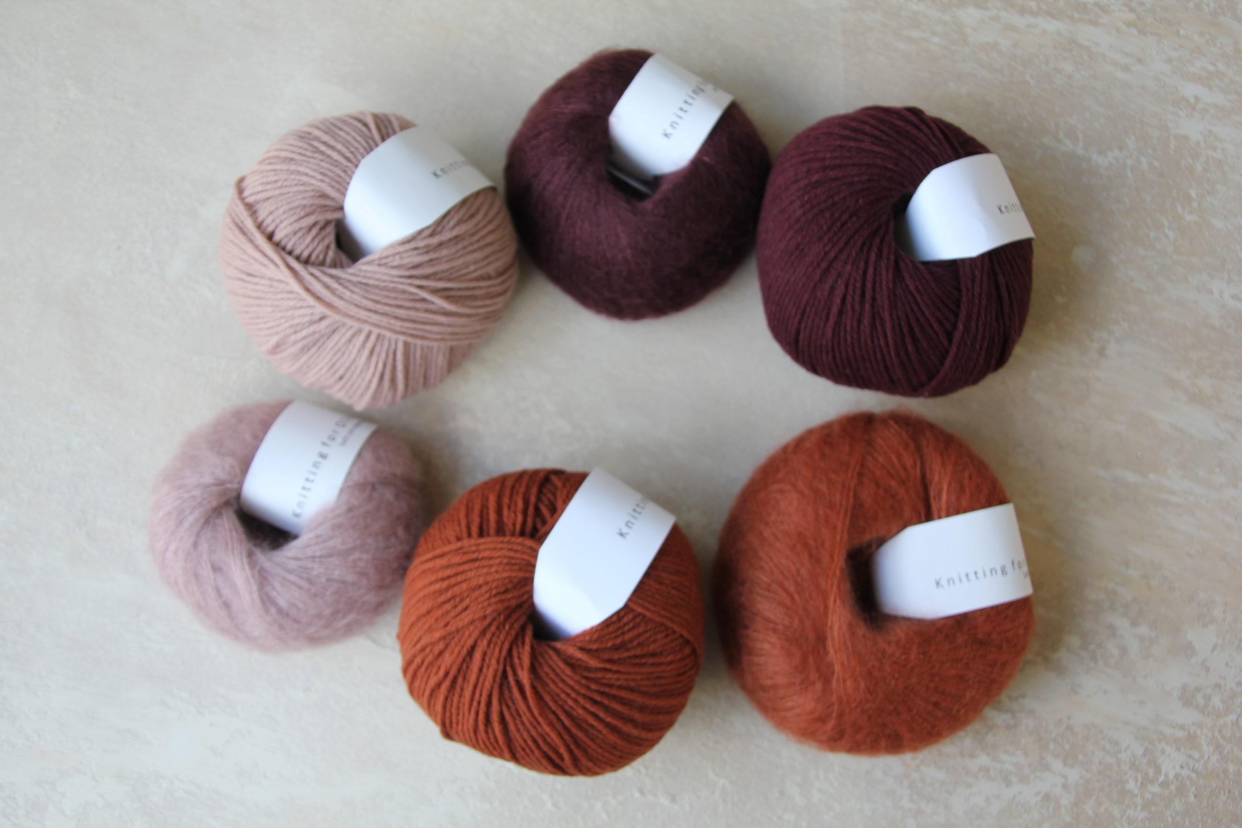 Knitting for Oliven Heavy Merinoja ja Soft Silk Mohaireja