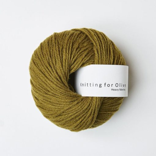 Knitting for Olive Heavy Merino okkergron