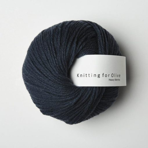 Knitting for Olive Heavy Merino Dyb Petroliums Bla
