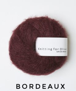Knitting for olive SoftSilkMohair Bordeaux