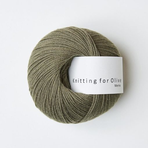 Knitting for Olive Merino Dusty Oliven_Dusty_Oliven
