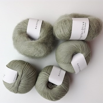 Knitting for Olive Soft Silk Mohair ja Merino