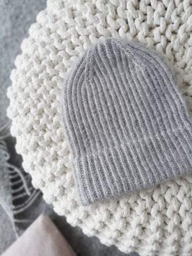 Lilaste-pipo Knitting for Olive Soft Silk Mohairista ja Merinosta