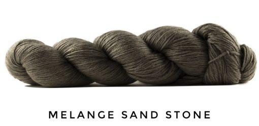 Rosy Green Wool Cheeky Merino Joy Melange Sand Stone