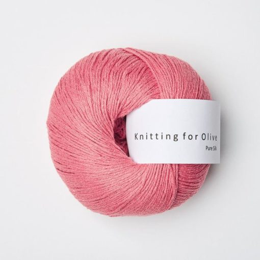 Knitting_for_olive_puresilk_Hindbærpink_Raspberry-Pink