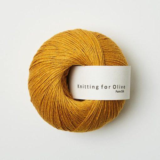 Knitting_for_olive_puresilk_Solsikke_sunflower