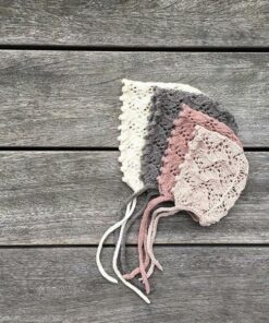 Knitting for olive holly bonnet -lasten neulemyssyn ohje