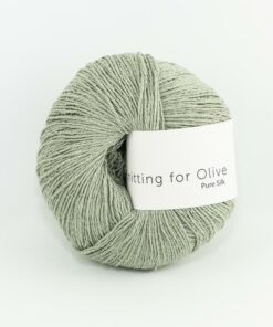 Knitting for Olive Pure Silk_StovetArtiskok_Dusty_Artichoke