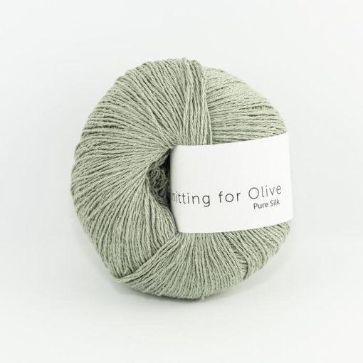 Knitting for Olive Pure Silk_StovetArtiskok_Dusty_Artichoke