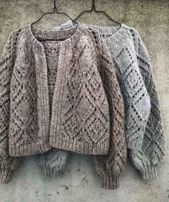Clotilde Cardigan knitting for olive