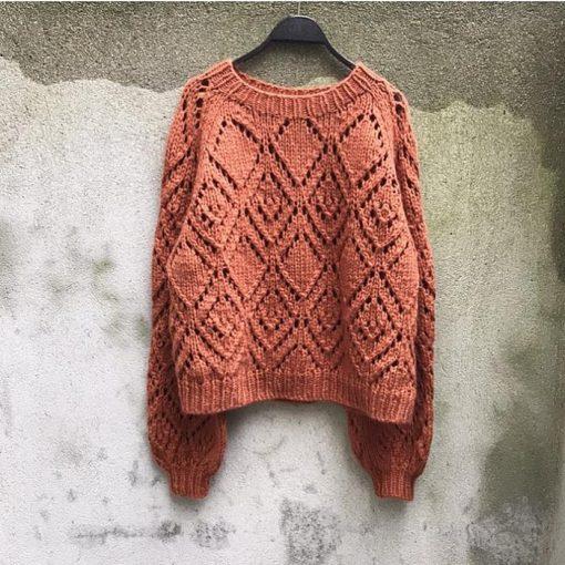 Clotilde sweter knitting for olive