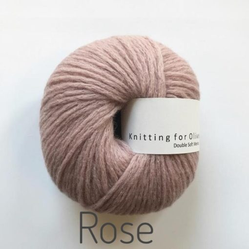 Knitting for Olive Double Soft Merino Rose