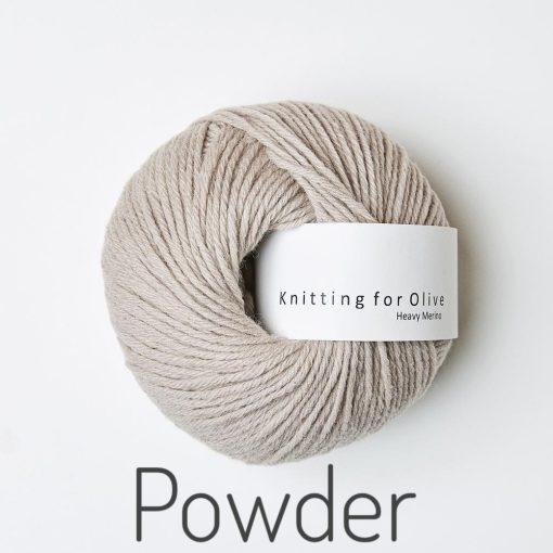 Knitting for Olive Heavy Merino Powder Pudder