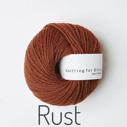 Knitting for Olive Heavy Merino Rust