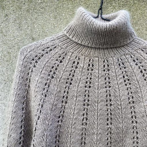 knitting for olive fern sweater