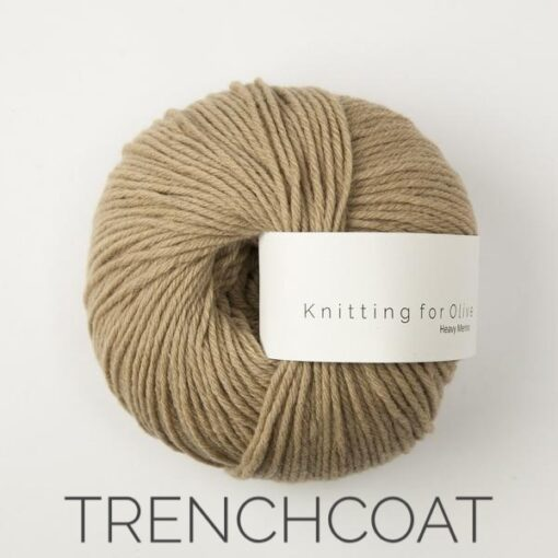 Knitting for Olive Heavy Merino_trenchcoat